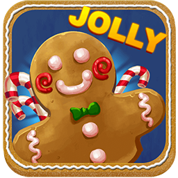 Jolly Gingerbread Video Slot.