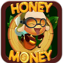 funny cute bees honey slot game.